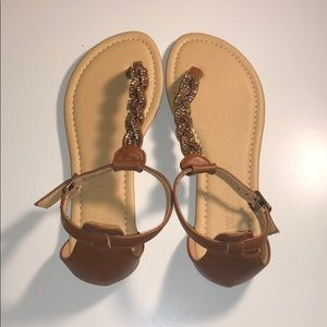 Shoes - Brown Sandals 5